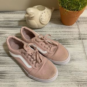 VANS Shell Pink Classic Girls Shoes Sneakers 3